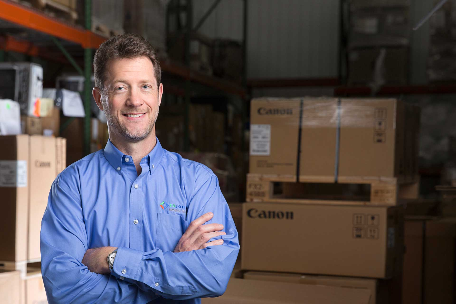 eo_johnson_employee_in_warehouse