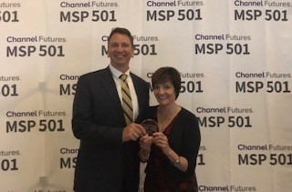 EO Johnson's Locknet Managed IT Honored at Inaugural Channel Partners Evolution Awards